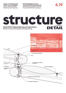 structure – published by DETAIL 4/2019