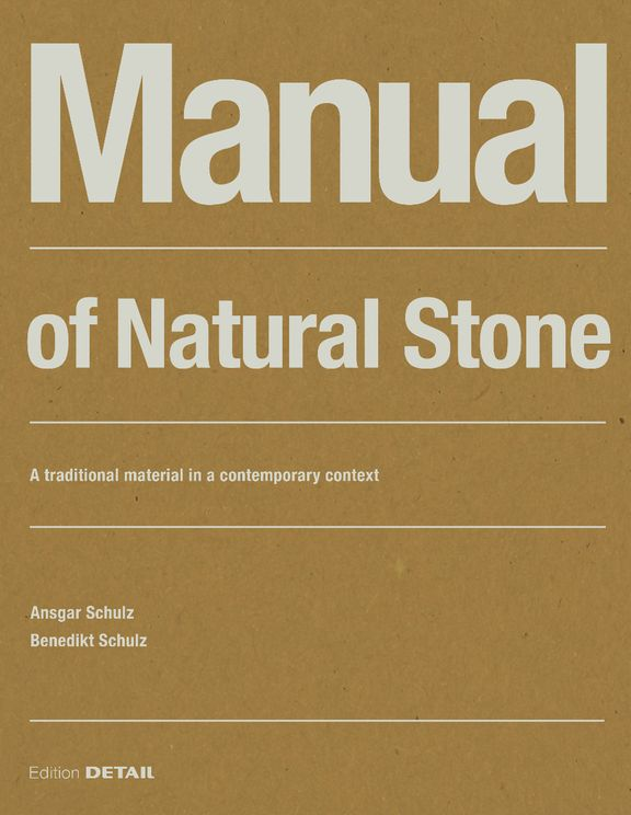 Manual of Natural Stone