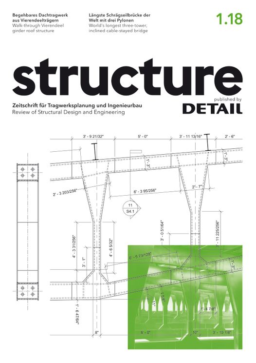structure – published by DETAIL 1/2018