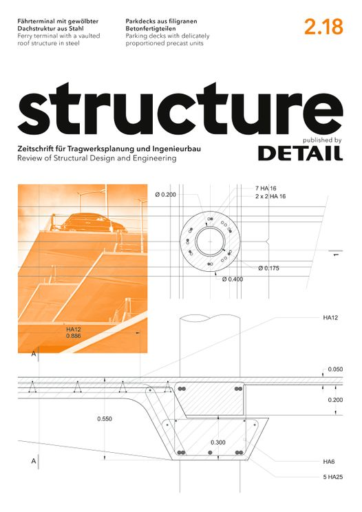 structure – published by DETAIL 2/2018