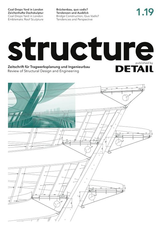 structure – published by DETAIL 1/2019